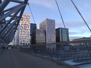 Modern flat near Oslo central station
