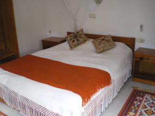 Bedroom 1 on the 1st floor - double with balcony. There is also a family bathroom on the 1st flo