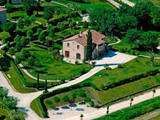 Villa Il Pino a Cortona, Creti