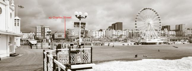 45 seconds away from the Pier, Brighton Wheel and all Brighton's main attractions!