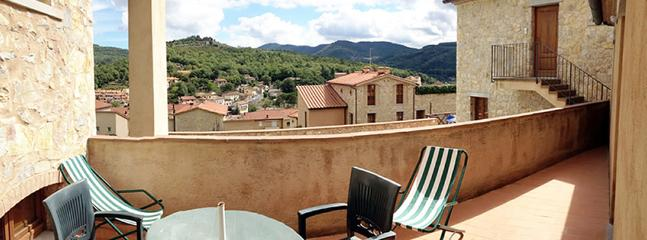 The view from your terrace in Casa Chianti
