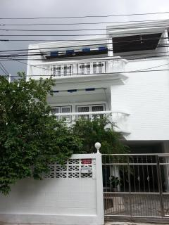 Balconies on 2nd & 3rd floor, a front garden with fruit trees-perfect home to enjoy quiet relaxa