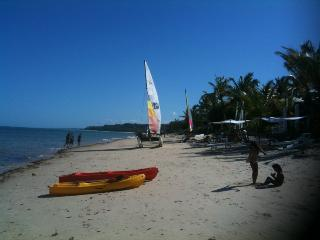 watersports equipment to hire just 100m from the house