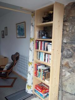 A variety of books, DVD's, games etc available for guests use