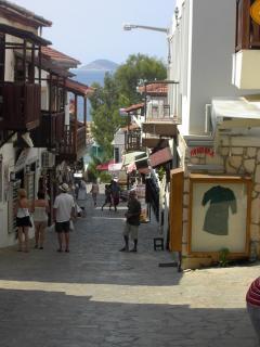 Kalkan street scene