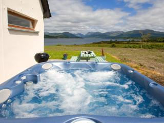 Soak up the scenery from the outdoor Jacuzzi Hot Tub.