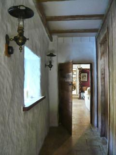 Inner Hallway with tiny door