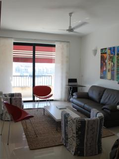 Living room towards balcony