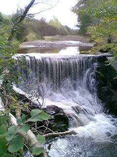 Water weir near Cadamstown - Slieve Bloom Mountains
