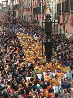 The Tre Ceri Festival in Gubbio
