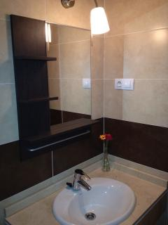 En-suite bathroom which also has Shower & Bath