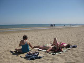 Utah beach - the nearest beach to our house.