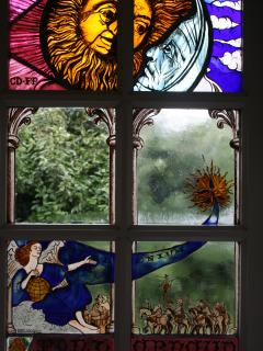 Our very own Stained Glass Window
