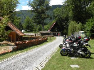 MOTOLUX Motorbike camping