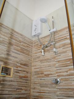 State of the art shower-room for bedroom 2