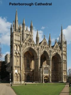 Peterborough Cathedral (15 mins)