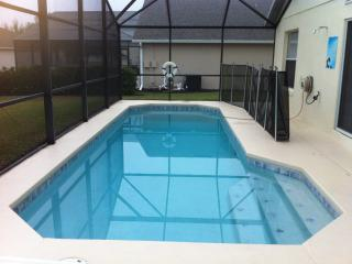 Take a dip in the pool with safety screen. Pool heat available on request (small charge)