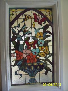 Our stained glass window