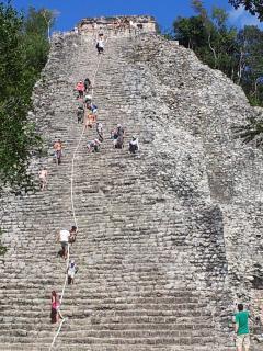 Cobà, sito Maya....a 5 minuti di macchina