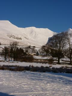 Winter wonderland - Blencathra in the snow