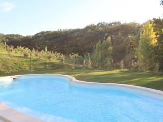 La piscine des Vergers de la Bouligaire