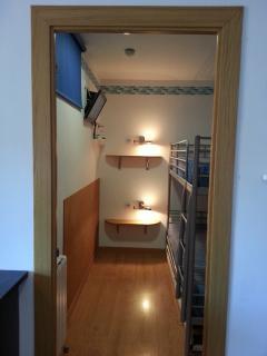 Habitación Pequeña con litera de 90 x 205