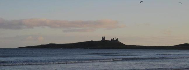 Dunstanburgh Castle from Embleton