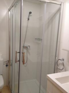 Shower in bathroom 1