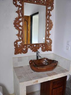 A part of the 1st guest bathroom.