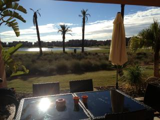 Mar Menor Golf Resort FREE WIFI Ground-Floor app. With covered terrace + garden