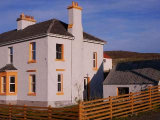 Kilda House, stunning views over Sea loch Obbe in front of the house,  fishing from your doorstep