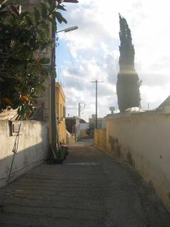Alley in Tala Village. This one leads to the village square with a taverna, restaurants & 2 kiosks