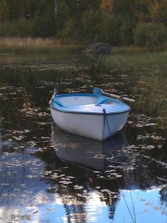 Our little boat 'Lov'