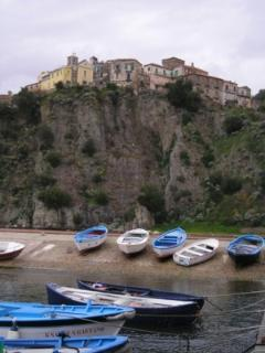Agropoli port view