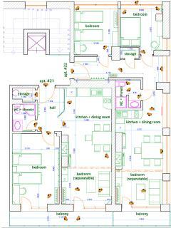 apartments 21&22 plan