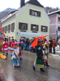 Ebensee is home to many traditions, and Fasching is something that has to be seen to be believed!