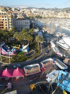 Cannes and it's port