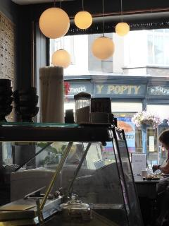 Friendly local shops and cafes