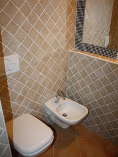 Brand new toilet room