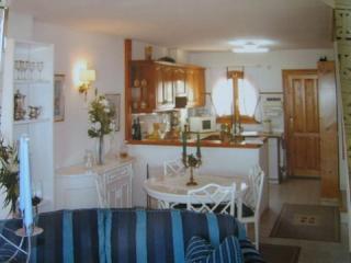 vista salón y cocina