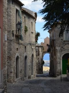 Streets of Gerace (40 mins drive from apartment)