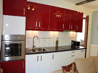 Newly refurbished modern kitchen with full cooking facilities