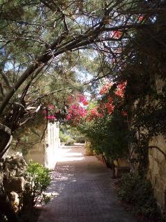 private passageway...
