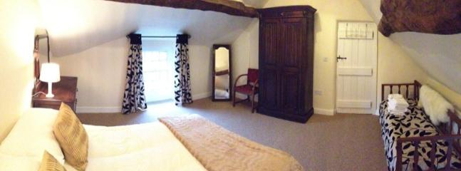 Bedroom 1 with room for additional beds