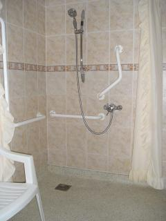 shower in wet-room