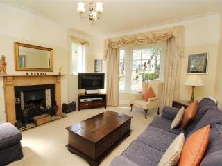 The Lounge is furnished with good quality furniture and 'real flame' gas fire
