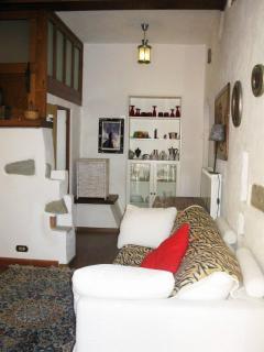 Lounge area seen from front door
