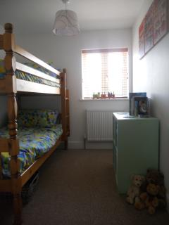 Bedroom Three with Bunk Beds, this room is suitable for both children and adults