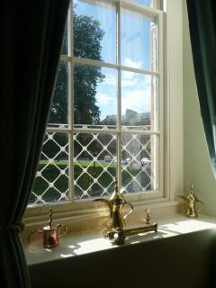 View from the drawing room.