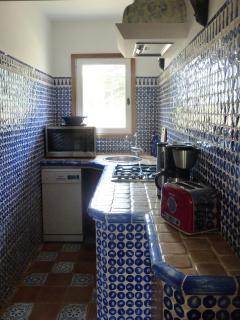 des saveurs préparées dans la cuisine toute équipée.